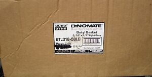 New Lot Of 7 Duro Dyne Butyl Gasket Tape 3 16 X 5 8 X 25 Ft