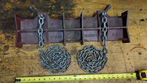 Pipe Welding Pipe Clamp 2d Jewel Mfg Co 2 Pipe Chain Vise Large