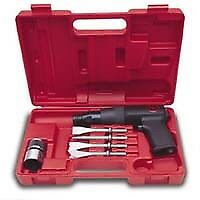 Low Vibration Air Hammer Kit With Chisels