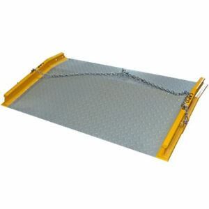 13 000 Lb Load 60 X 60 Steel Dock Board Plate Forklift Pallet Ramp
