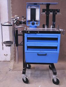 North American Drager Narkomed Anesthesia Machine System Isoflurane Vaporizer 1