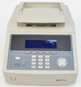 Abi Applied Biosystems Geneamp 9700 Pcr System Thermal Cycler W 96 well Block