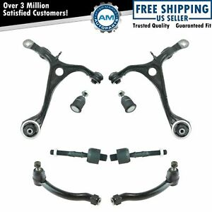 8 Piece Steering Suspension Kit Control Arms W Ball Joints Tie Rods For Tl