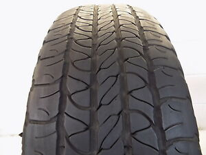 Used P245 60r18 104 S 4 32nds Goodyear Fortera Hl Edition