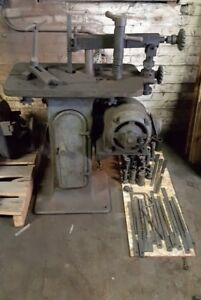 Davis 2 Keyseater W large Amount Tooling Will Ship Keyway Broach Machine
