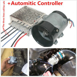 Professional Dc12v Automatic Car Electric Turbine Power Turbo Charger Controller