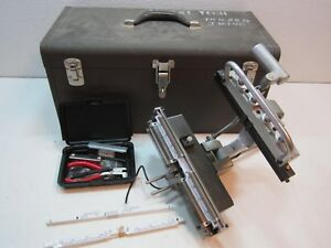 Western Electric Lucent Kit 1025b With 850 Cutter Presser Crimper Tool Nice