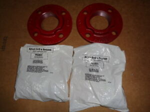 B g Circulator Pump Flanges 2 Pair Boiler Hot Water F14000 Gasket Set 4 Bolt