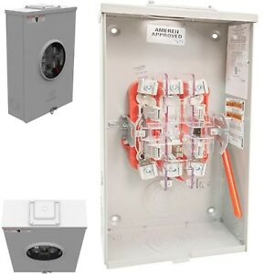 Milbank 200a 5 Terminal Ringless Heavy Lever Bypass Overhead Under Meter Socket