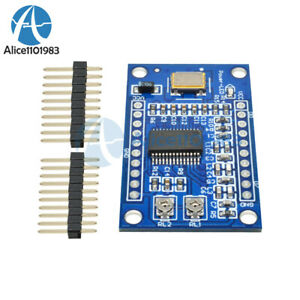 Ad9850 125mhz Dds Signal Generator Module 0 40mhz 2 Sine 2 Square Wave Output