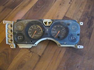 Ford Mustang Speedometer Cluster 8k Tach Cobra Fox Rs Rare Turbo Gt 1984 85 83