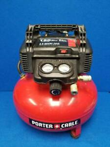 Porter Cable C2002 Air Compressor 6ga 150max Psi local Pickup Only ppp005288