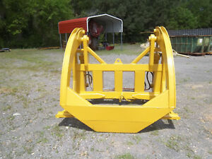 Cat Caterpillar 950d 950e 950f Log Forks Front End Loader Clamp Clamping Fleco