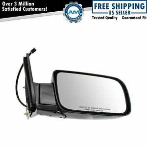 Mirror Side View Power Black Folding Passenger Right For Chevy Gmc Pickup Truck