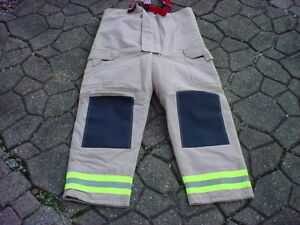 Bristol New Old Stock Turnout Pants Fireman Firefighter Fire Dept 38