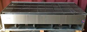 48 Stratus Srb 48 Lava Rock Char Broiler Grill Commercial Natural Gas Stainless