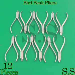 12 Bird Beak Pliers Orthodontic Instruments Supply