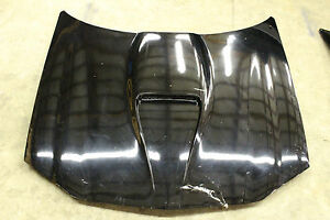 98 02 Oem Camaro Ss Hood Factory Stock Gm Original Black Ls1 Slp Damaged