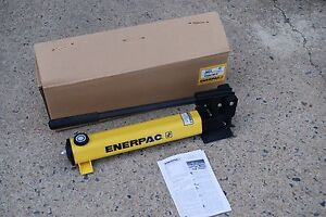 Enerpac P 392 Hydraulic Hand Pump 10 000 Psi 2 Speed 3 8 Npt Single Acting New