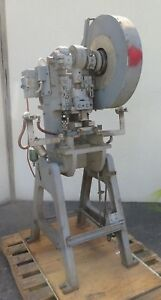 Alva Allen 12 Ton Obi Punch Press Model Bt 12 Single Phase Made In Usa