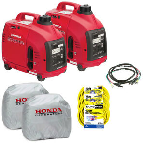Honda Eu1000i pkit 1 000 watt 120 volt Inverter Generator Parallel Kit