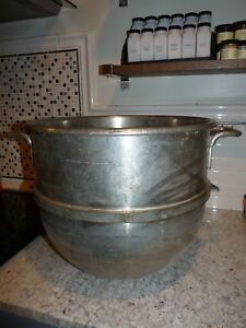 Hobart Vmlh 40 Stainless Steel Commercial Mixing Bowl For 40 Quart Mixer D340 Oh