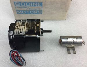 Bodine Kci 23a2 Gear Motor 115v 130 Rpm 717ce1013 New In Box