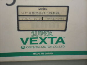 Vexta Stepping Motor Drive Upd596h nba new