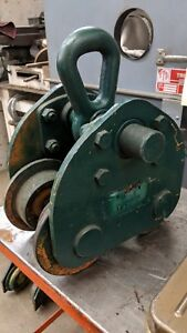 Accolift Hawk I Beam Push Trolley 5 Ton For Chain Hoist Winch Crane