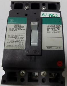 General Electric 100a Industrial Circuit Breaker Ted134100