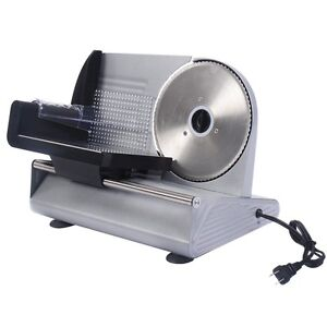 7 5 Home Kitchen Blade Electric Meat Slicer Cheese Deli Meat Food Cutter Tool