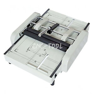 Zy 1 A3 Paper Folding Machine Staplers Paper Folder Binding Machine 220v