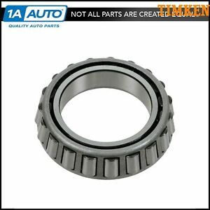 Timken 387as Differential Bearing Rear For Chevy Dodge Gmc Mercedes Pickup Suv