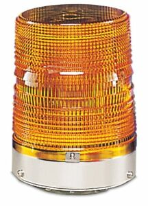 Federal Signal 131st 120a Strobe Light Amber 120vac 50 60hz New In Box