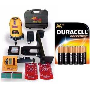 Pacific Laser Systems Pls Hvl 100 With 10 Pack Duracell Aa Batteries