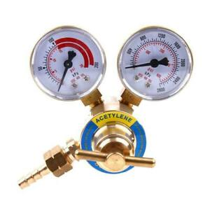 Cga 200 Acetylene Regulator Welder Gas Welding Cutting Torch Pressure Gauge 2