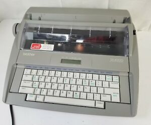 Brother Model Sx 4000 Daisy Wheel Electronic Typewriter Lcd Display Portable