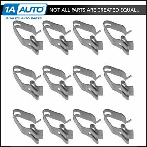 Oem Grille Mounting Retainer Clip Set Of 12 For Chevy Gmc Olds New