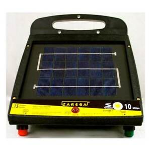 Zareba Esp10m z 10 mile Solar Low Impedance Fence Charger