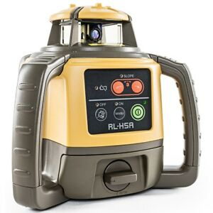 Topcon Rl h5a Self leveling Rotary Grade Laser Level Free Tripod