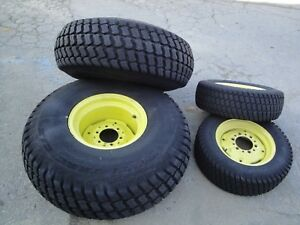 John Deere 4300 4x4 Turf Tires 4 Wheels