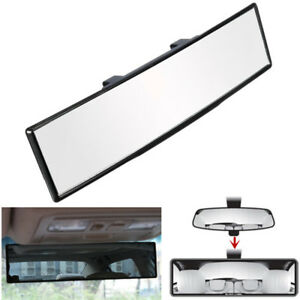 Universal 270mm Car Wide Arch Curve Interior Clip On Rear View Mirror Auto