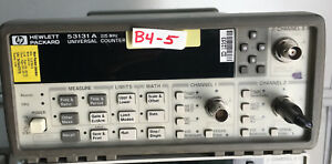 Hp agilent 53131a Universal Frequency Counter W 010 030 h09