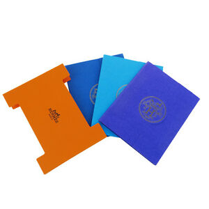 Authentic Hermes Logos 3 Set Post It Sticky Notes Memo Paper Multi color 06b964