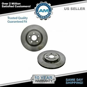 Front Discs Brake Rotors Pair Set Of 2 For Chevy Camaro Ss Regal Turbo G8 Gxp