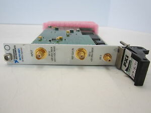 National Instruments Ni Pxi 5621 64 Ms s Digitizer Module 14 bit 64mb Oop