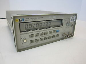 Hp 5384a Frequency Counter Calibrated 12 17 15