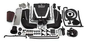Edelbrock 15420 Supercharger Universal Gm Gen Iv Block Ls3 l92 Rectangu