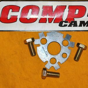 Comp Cams 4605 Sbc Bbc Cam Lock Plate With Bolts Camshaft Cam Shaft 350 454