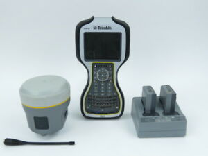 Trimble R10 Gnss Gps Base rover Receiver W 450 470 Mhz Radio And Tsc3 W Access